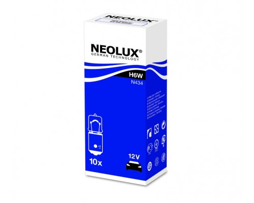 Лампа розжарювання автомобільна NEOLUX NE N434