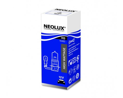 Лампа галогенна автомобільна NEOLUX NE N483