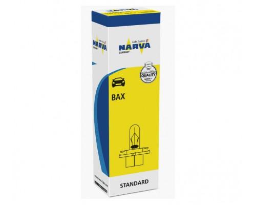 Лампа розжарювання 12V BAX 1,2W 1.2W B8,4D світло-ГОЛУБАЯ