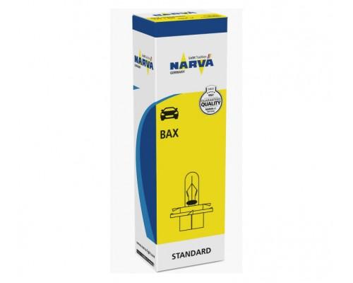 Лампа розжарювання 12V BAX 1,8W BX8,4D BEIGE 1