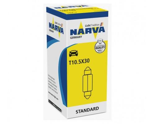 Лампа розжарювання 12V C10W 10W T11X28 SV8,5-8