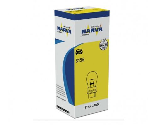 Лампа розжарювання 12V 3156 P27W 32CP 12,8V 27W W2
