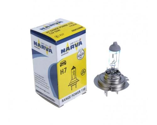 Лампа галогенна 12V H7 55W PX26D RANGE POWER 110