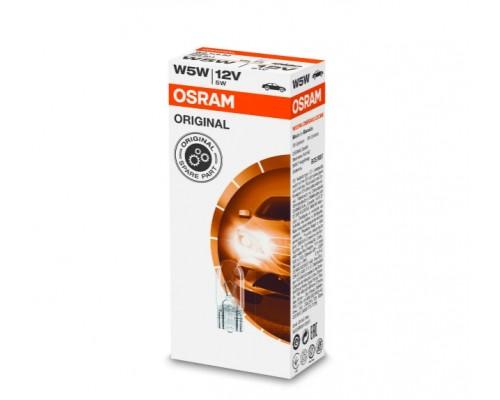 Лампа розжарювання 12V W5W 5W W2,1X9,5D ORIGINAL LINE