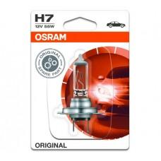 Лампа галогенна 12V H7 55W PX26D ORIGINAL LINE, БЛИСТЕР (1ШТ)