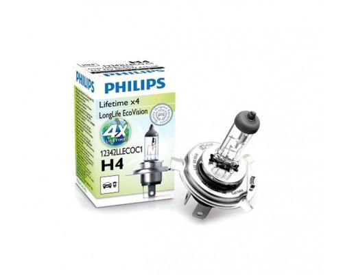 Лампа галогенная автомобильная PHILIPS PS 12342 LLECO C1