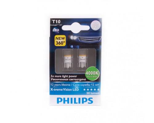Лампа світлодіодна автомобільна PHILIPS PS 127994000K X2