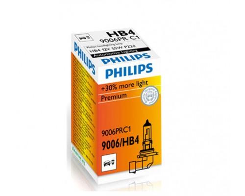 Лампа галогенна автомобільна PHILIPS PS 9006 PR C1