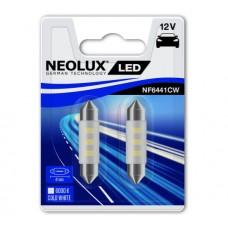 Лампа світлодіодна 12V C5W LED 0.5W 41ММ SV8,5 БЛИСТЕР (2ШТ)
