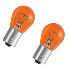 Лампа розжарювання 12V PY21W 21W BAU15S AMBER помаранчова (К-Т 2ШТ)