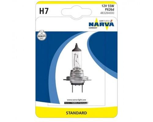 Лампа галогенна 12V H7 55W PX26D