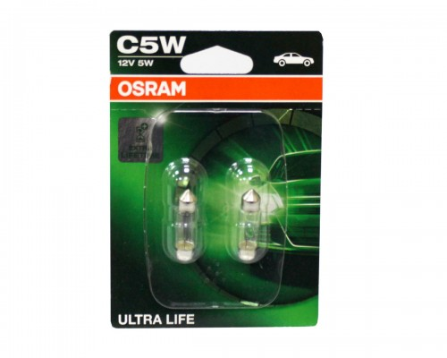 Лампа розжарювання автомобільна OSRAM OS 6418 ULT-02B