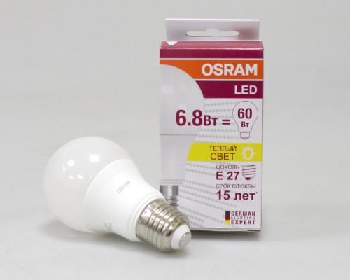 Лампа світлодіодна автомобільна OSRAM OS CLA60-6.8W/827 LS
