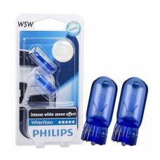 Лампа розжарювання 12V W5W 5W W2,1X9,5D(2ШТ В БЛИСТ.)