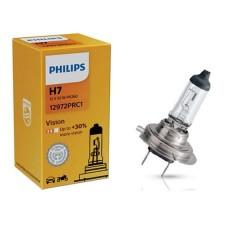 Лампа галогенна 12V H7 55W PX26D VISION, На 30% більше світла