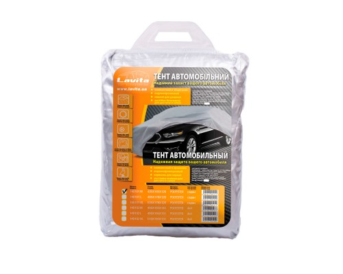 Тент автомобильный полиэстер 435х165х120, сумка LA 140101M