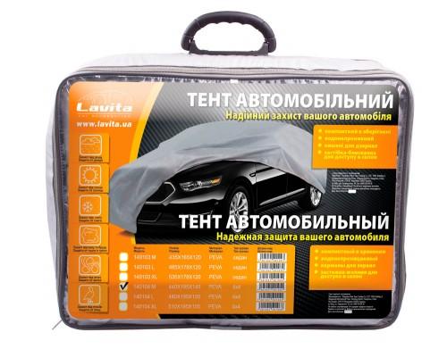 Тент автомобильный 4х4 peva 440х185х145, сумка LA 140104M