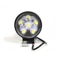 Фара дневного света 138x114x37 мм, LED 6x3 Вт, 1 шт. LA 291812