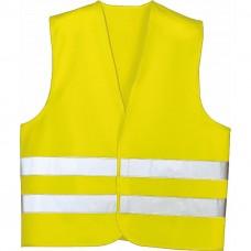 Жилет аварійний, світло-жовтий, XL LA 171600