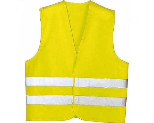 Жилет аварийный, светло-желтый, XL LA 171600