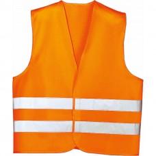 Жилет аварійний, помаранчевий, XL LA 171 601