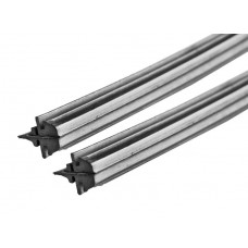 Резинки сменные щеток стеклоочистителя (каркасный тип), 2 шт., 600 мм LA 233003