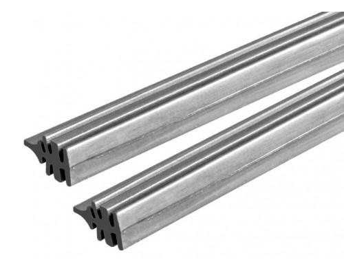 Резинки сменные щеток стеклоочистителя  (бескаркасный тип), 2 шт., 700 мм LA 233004