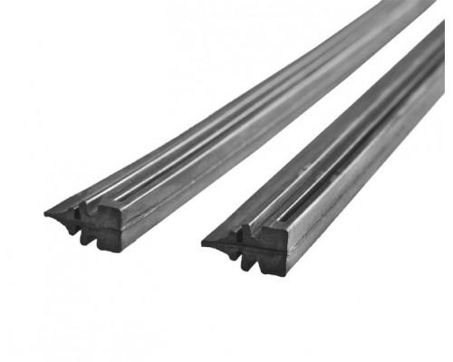 Резинки сменные щеток стеклоочистителя (бескаркасный тип), 2 шт., 600 мм LA 233008