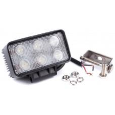 Фара денного світла 110x60x56 мм, LED 6x3 Вт, 1 шт. LA 291810