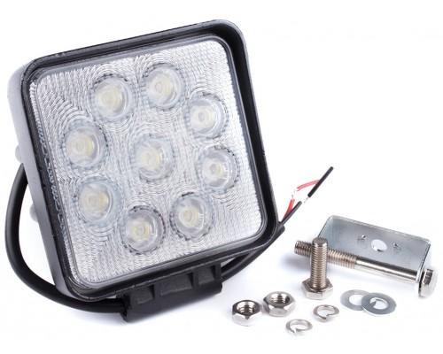 Фара денного світла 128x110x58 мм, LED 9x3 Вт, 1 шт. LA 292716S