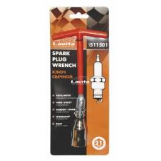 Ключ свічковий з шарніром T-подібний 21 мм, довжина 200 мм LA 511501