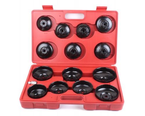 Набор съемников масляных фильтров «чашка», 15 шт. LA 514015