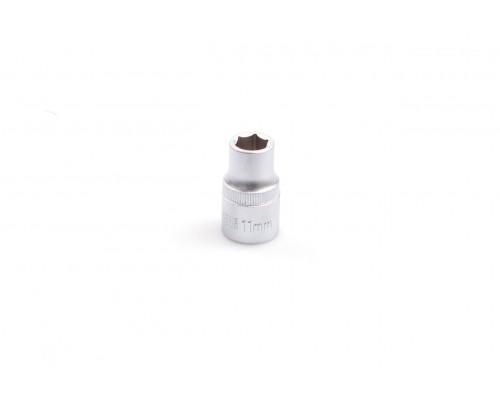 """Головка шестигранная 1/2"""", 11 мм, CRV LA 601211"""