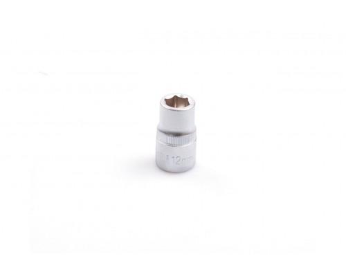 """Головка шестигранная 1/2"""", 12 мм, CRV LA 601212"""