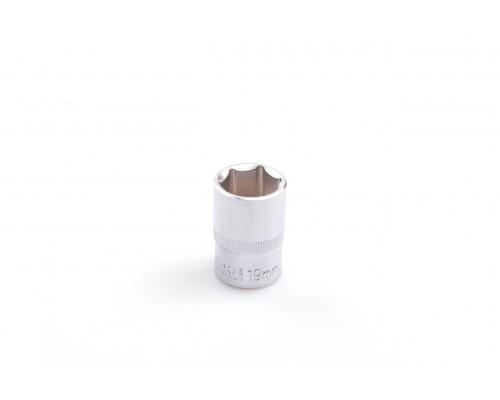"Головка шестигранна 1/2 "", 19 мм, CRV LA 601219"