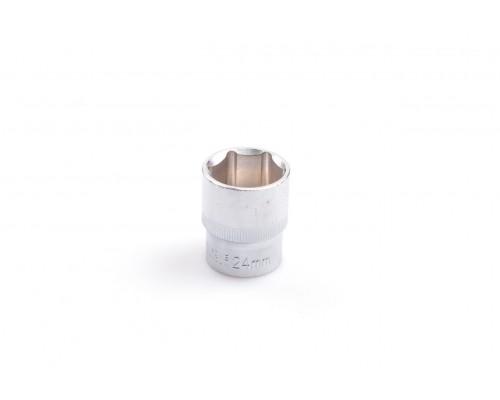 """Головка шестигранная 1/2"""", 24 мм, CRV LA 601224"""