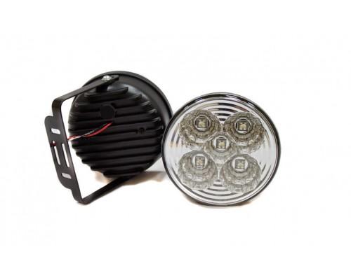 Фара денного світла D = 100 мм, LED, 2 шт. LA HY-092-32