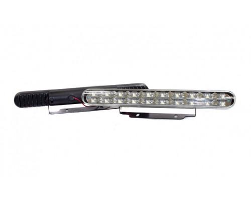 Фара дневного света 220x25 мм, LED, 2 шт. LA HY-092-5P