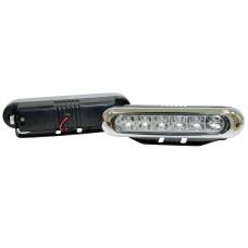 Фара дневного света 150x33 мм, LED, 2 шт. LA HY-092F