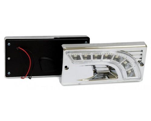 Фара дневного света штатная LADA 2110, LED, 2 шт. LA HY-174-3LED LADA