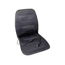 Накидка на сидіння з підігрівом, чорна 60 Вт / 12 В LA 140401BK