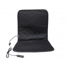 Накидка на сиденье с подогревом, черная LA 140403BK