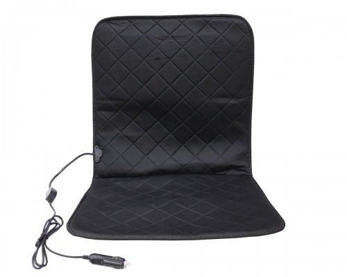 Накидка на сидіння з підігрівом, чорна - LA 140403BK