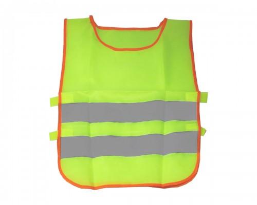 Жилет сигнальный, детский, LA 171602, светло-желтый, S