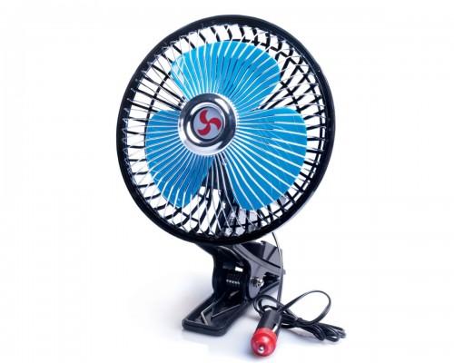 """Вентилятор автомобільний 6 """"(15,2 см), 12 В, решітка метал LA 180201"""
