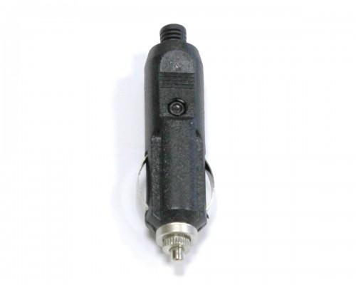 Штекер для автомобильного прикуривателя универсальный с предохранителем 12в, 10а
