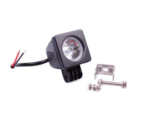 Фара денного світла 66x66x65 мм, LED, 1 шт. LA 291019-1