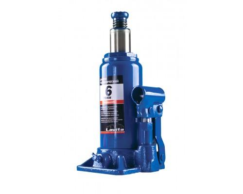 Домкрат гідравлічний пляшковий 6 т, 200-385 мм LA JNS-06