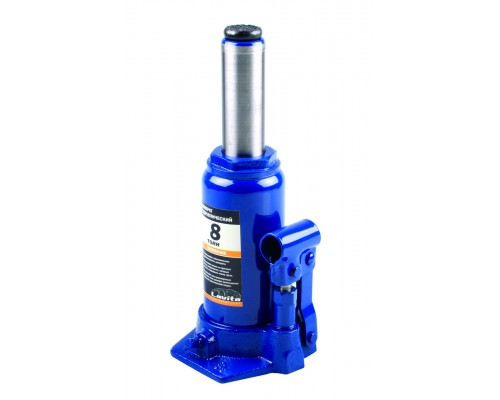 Домкрат гидравлический бутылочный 8 т, 200-385 мм LA JNS-08