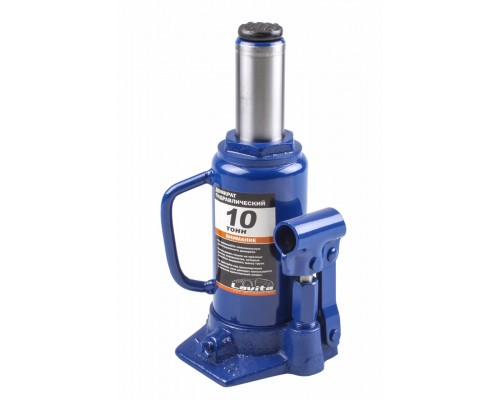 Домкрат гідравлічний пляшковий 10 т, 200-385 мм LA JNS-10